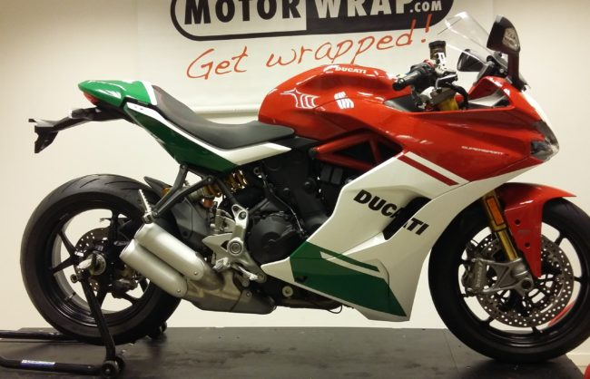 ducati supersport gewrapped als final edition